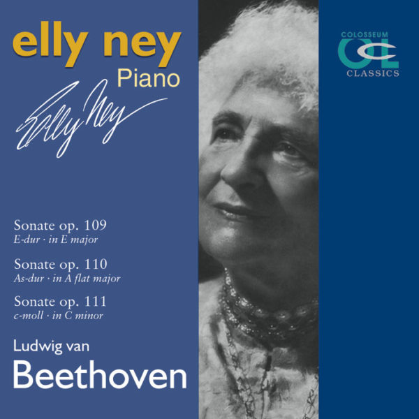 NEY, ELLY - CD 1 - Beethoven