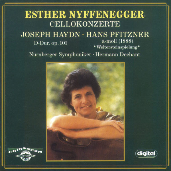 Esther Nyffenegger - Cellokonzerte