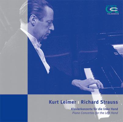 """Kurt Leimer """"Klavierkonzerte für die linke Hand"""""""